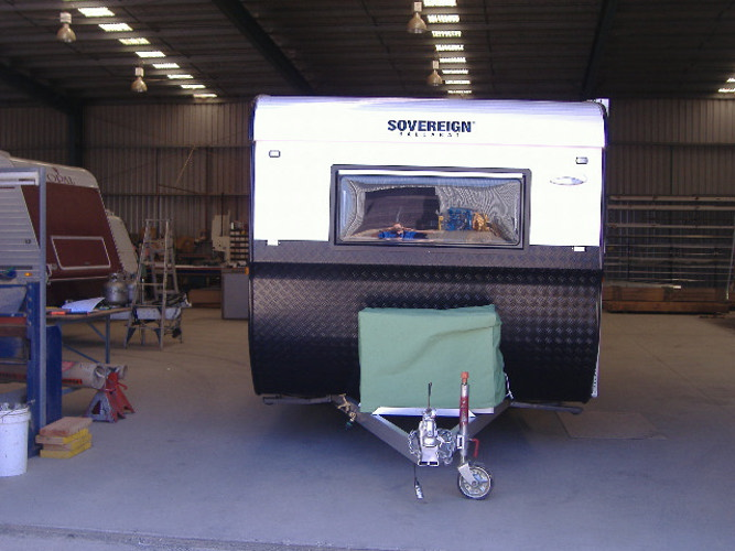 Custom vans and trailers